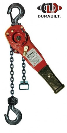 Durabilt Lever Hoists 3/4 Ton Rated Capacity 10ft Standard Lift