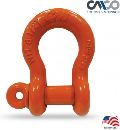 CM Super Strong Anchor Shackle   3/8 in.   1-1/2 Ton WLL