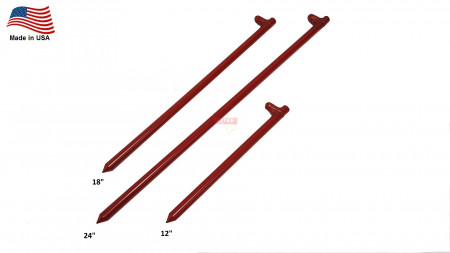 Hot Forged Steel Stake