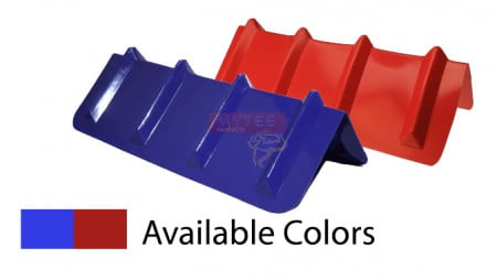 "Corner Protector V Shaped - 8"" x 24"" (Red or Blue)"