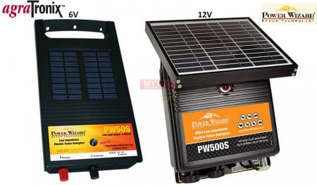 Power Wizard Solar Powered Energizers