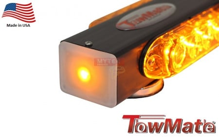 Strobe Bar 360 Degrees Amber Colored 16 Inch