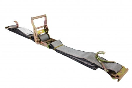 """2""""X12' Etrack Straps with E Fitting and J Hook"""