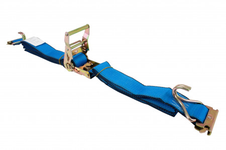 """2""""X16' Etrack Straps with E Fitting and J Hook"""