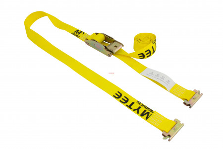 "2"" x 12' Overcenter E-Track Buckle Strap w/ Fittings, 3000 lbs WLL"