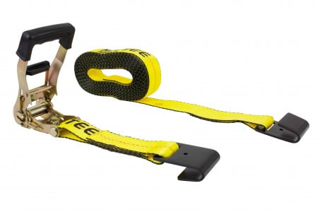 """2"""" x 30' Ratchet Strap with Flat Hook, 4000 lbs WLL"""