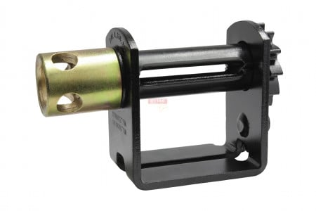 Double L Slider, Ratcheting Winch