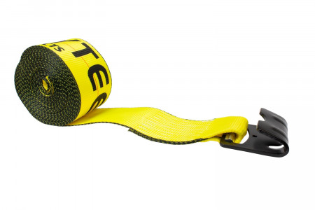 4 in. x 40 ft. Winch Strap with Flat Hook