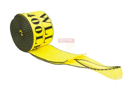 """Winch Straps 4"""" x 30"""" Yellow Heavy Duty Tie Down w/ Sewn Loop WLL# 5400 lbs 