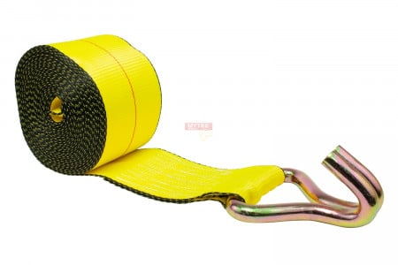 """4"""" x 30' Winch Strap with Wire Hook"""