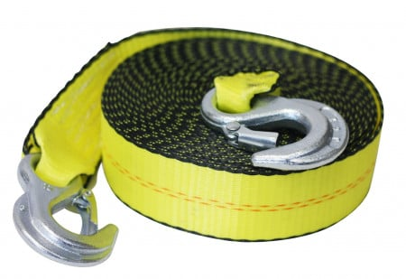 "Tow Straps 2"" x 20' With Forged Hooks"