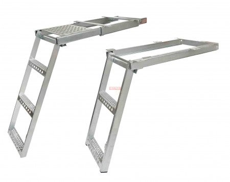 Pull-Out Trailer Step Ladder