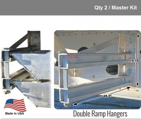 """Single Ramp Hanger for 5"""" Thick Ramps - Right Hand Side"""
