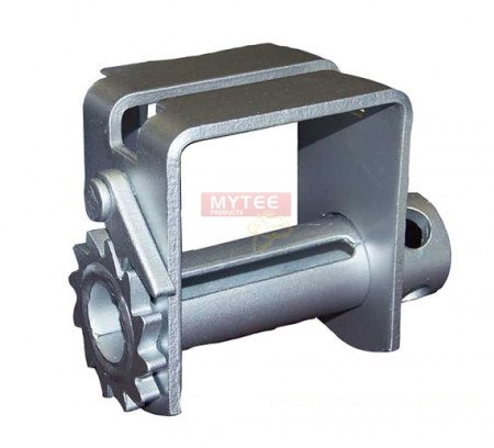 Double L Slider, Zinc Coated Winch