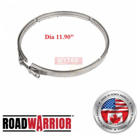 ROADWARRIOR DPF/DOC Clamp for Dia 11.90""