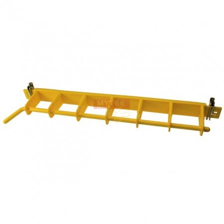 Yellow Rack 6 Bay Load Lock and Decking Beam Storage