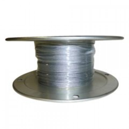 "Galvanized Aircraft Cable Wire Rope 1/16"" x 1000' 7x7"