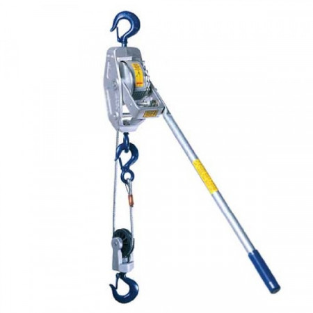 Lug-All Cable Ratchet Winch Hoists, 1.5 Ton WLL