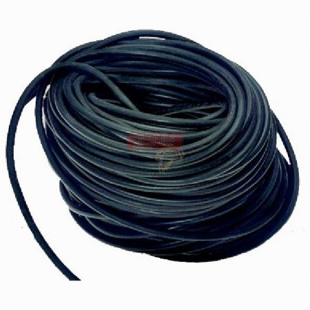 """Rubber Bungee Rope Solid Core 3/8"""" x 200'"""