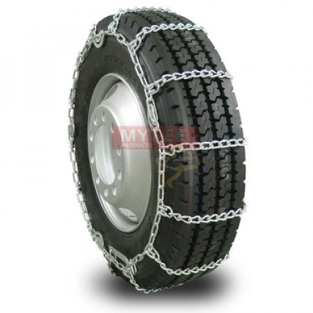 "Twist Link Tire Chain - Single For 24.5"" tires (Set of 2)"